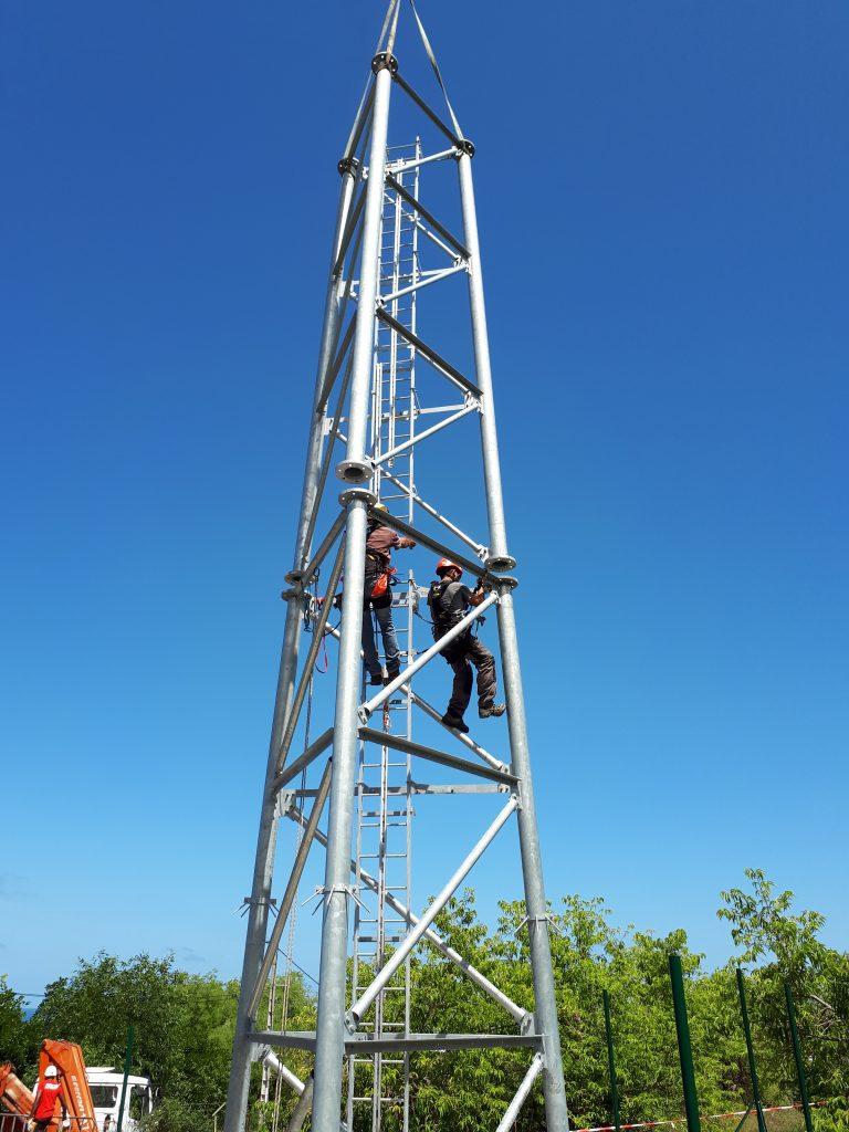 montage pylône ITAS
